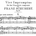 Schubert_Impromptus